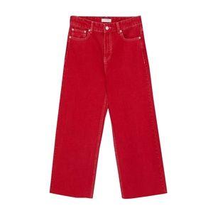 ZARA Women PREMIUM Red Jeans